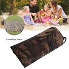 Waterproof Camo Sheet Canopy Awning Rain Cover Camping Shelter Hiking Tarp Tents