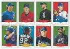 2007 Bowman Heritage Prospects Complete Team Set Rookie Card RC PROS 07