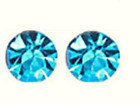 MAGNETIC crystal earrings 6mm clip-on allergy- free weight loss no usps tracking