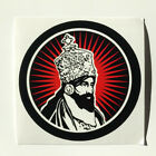 Emperor Haile Selassie Sticker Decal Vinyl Rasta Color Jah Jamaica Reggae Music