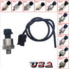 Kyпить 1/8NPT Thread Stainless Steel Pressure Transducer Sensor Oil Fuel Air Water US на еВаy.соm