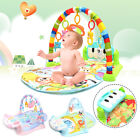 3 IN 1 Baby Fitness Kick Play Musical Piano Gym Play Baby Activity Exercise Mat