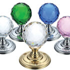 Fulton and Bray Ball Shaped and Faceted Mortice Door Knobs 55mm Various Colours