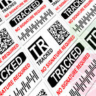 TRACKED MAIL - INR Postal Stickers Labels Tracking Post Delivery AVOID CLAIM