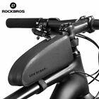 ROCKBROS Top Tube Frame Bag Waterproof Bike Bag Cycling Large Capacity  Black