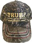 Keep America Great Again Trump  Realtree Camo Structured Adjustable Hat