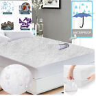 Waterproof Mattress Protector Terry Towel Extra Deep Fitted Sheet  image