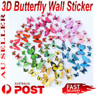 12pcs 3d Butterfly Wall Sticker Home Decor, Wedding Decor Removable Decoration