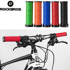ROCKBROS Cycling Bike Bicycle TPR Rubber Handlebar Grips Lock Anti-slip Grips