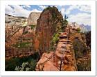 The Angels Landing Hike Takes You All Art Print Home Decor Wall Art Poster - F