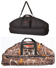 Compound Bow Case Soft Padded Camo Storage Hunting Archery Bow Arrow Protection