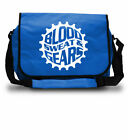 Blood Sweat & Gears, Messenger Bag, Cycling Courier Laptop College School Bag