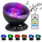'Baby Night Projector Starlight Ocean Wave Dreamshow Musical Light Cot Mobile Toy