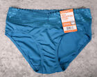 Warners No Pinching Problem HIPSTER Panty Panties Sz 5 7 9 S L 2XL BLUE 5609JU