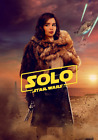 "Solo A Star Wars Story Poster 13x20"" 24x36"" 27x40"" 32x48"" Emilia Clarke as Qi'ra $17.9 USD on eBay"