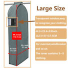 Clothes Garment Dustproof Cover Suit Coat Hanging Storage Bag 3D Protector Large фото