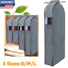 Kyпить Clothes Garment Dustproof Cover Suit Coat Hanging Storage Bag 3D Protector Large на еВаy.соm