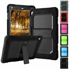 """For Apple iPad 9.7"""" 2018 6th Gen Shockproof Stand Case Cover with Shoulder Strap"""