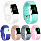 Fashion Fitbit Charge 2 Replacement Silicone Rubber Band Strap Wristband Hot