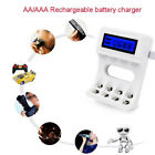aa batteries sale - 4Slots Intelligent LCD Display AA/AAA Ni-Cd Ni-Mh Battery Charger USB Cable Sale