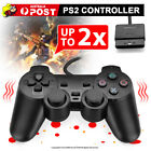 For PS2 PlayStation 2 Wire Cable Controller Dual Shock Gamepad Console Joypad OZ