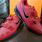 BRAND NEW IN BOX! NIKE ROMALEOS 2 MENS WEIGHTLIFTING SHOES RED BLACK 606
