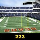 (2) TIX- Chicago Bears vs Green Bay Packers 12/16/18 Sec 223 Row 2 Soldier Field