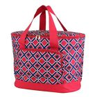 "24"" Large Insulated Cooler Bag Beach Pool Travel Picnic Shopping Thermal Tote"