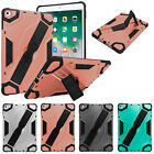 For iPad 9.7 2017/2018 Shockproof case Cover with Kickstand Hand Grip  Strap