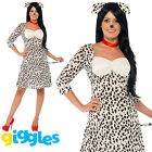 Dalmatian Costume Dog Pet Womens World Book Day Week Ladies Fancy Dress Outfit
