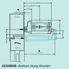 White Brackets For Electric Window Opener/Actuator System ACK4 230 or 24V