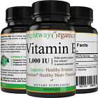 Vitamin E 1000 IU Softgels 60 Ct per bottle