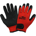 Global Glove Vise Gripster Palm Dipped Rubber Work Gloves, 12 Pair
