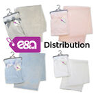 E&A Baby Girl Boy Unisex Soft Fleece Embossed Baby Wrap 0+ Month - Circles