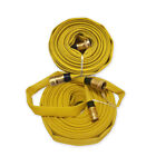 Kyпить Forestry Grade Lay Flat Fire Hose with Garden Thread, YELLOW, 250 PSI на еВаy.соm