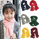 Внешний вид - Child Kids Baby Girl Boy Knit Scarf Warm Crochet Wraps Neckerchief Scarves US
