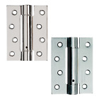 Single Action Fire Rated Door Hinges Self Closing Adjustable Spring Chrome