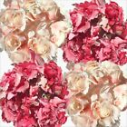 Vintage Floral Artificial Pink Cream Rose Garlands Home Wedding Venue Decoration