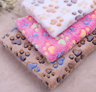 Pet Bed Cat Dog Puppy Soft Blanket Cushion Soft Warm Pad Liner 4 Size SALE