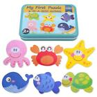 Animal Educational Set Puzzle Baby Preschool Toys Kit Iron Box Children Y