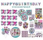 Lol Surprise Diva Birthday Party Tableware Decorations Balloons Supplies