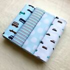 100% Cotton Supersoft Flannel Receiving Baby Blanket