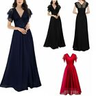 sexy black formal gowns - Sexy Women Long Formal Wedding Evening Gown Party Prom Bridesmaid Maxi Dress