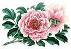 Pink Blush Peonies Quilt Fabric Block Multi Size FrEE ShiPPinG WoRld WiDE
