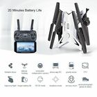 RC Drone Quadcopter With 5MP HD Camera WIFI 6-Axis Foldable Altitude Hold UFO