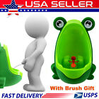 Frog Potty Kid Child Toddler Boy Baby Bathroom Toilet Urinal Pee Trainer Green