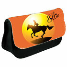Personalised Horse Make Up / Clutch Bag / Pencil Case - Back to School Gift