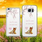 DISNEY BAMBI AND THUMPER CHERRY BLOSSOM   Phone Case Cover for iPhone Samsung