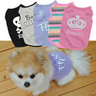 Small Dog Cat Vest Puppy T-Shirt Coat Pet Clothes Summer Apparel Costumes USA