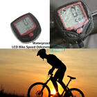 LCD Computer Odometer Speed Speedometer Waterproof Meter Bike Bicycle Cycling